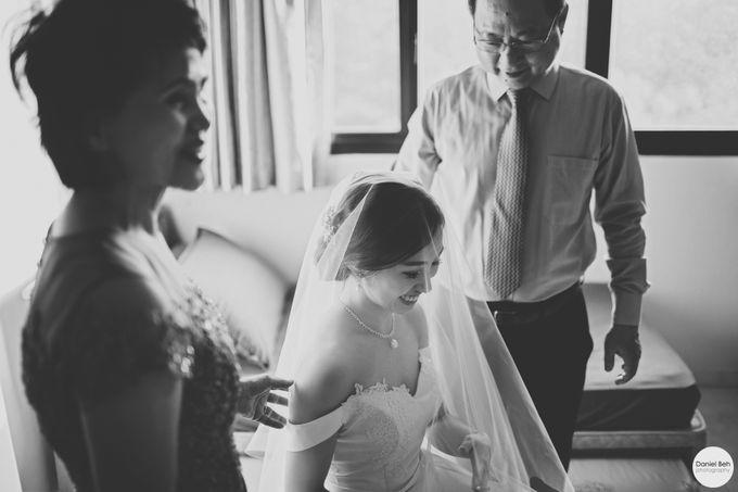 Sheen Mao & Aik Hui wedding day in Capella Singapore by Daniel Beh Photography - 002