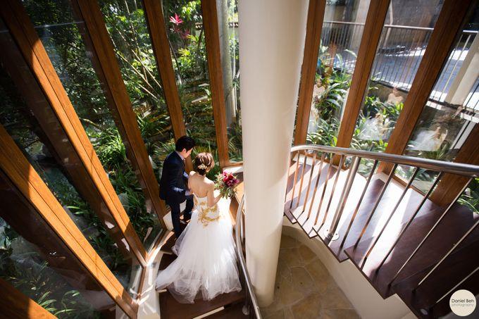 Sheen Mao & Aik Hui wedding day in Capella Singapore by Daniel Beh Photography - 008