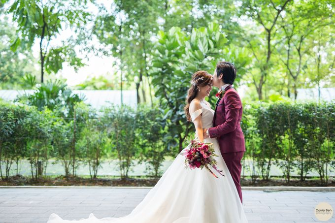 Sheen Mao & Aik Hui wedding day in Capella Singapore by Daniel Beh Photography - 016