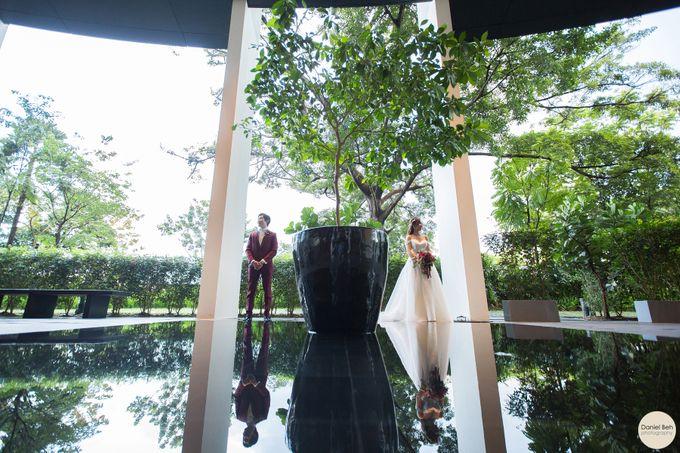 Sheen Mao & Aik Hui wedding day in Capella Singapore by Daniel Beh Photography - 017
