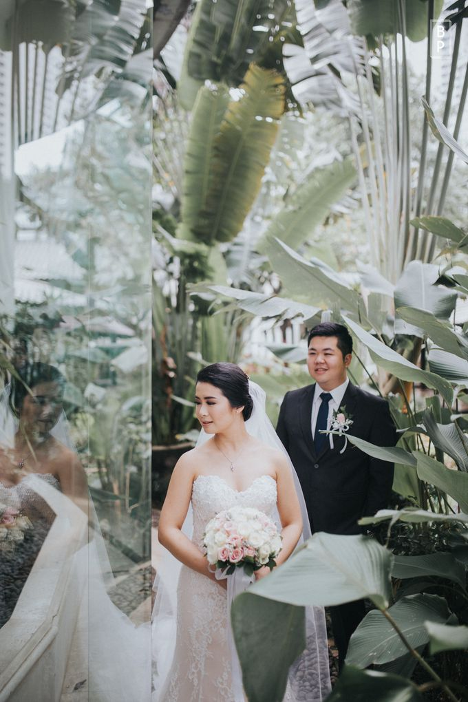 Steven & Cressa Wedding by Bernardo Pictura - 023