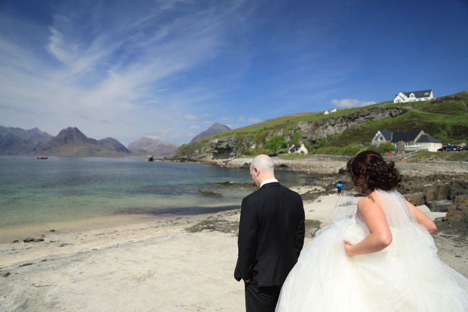 Dramatic elopement to Scotland by a couple who did things their way by Euphoria Photography - 004