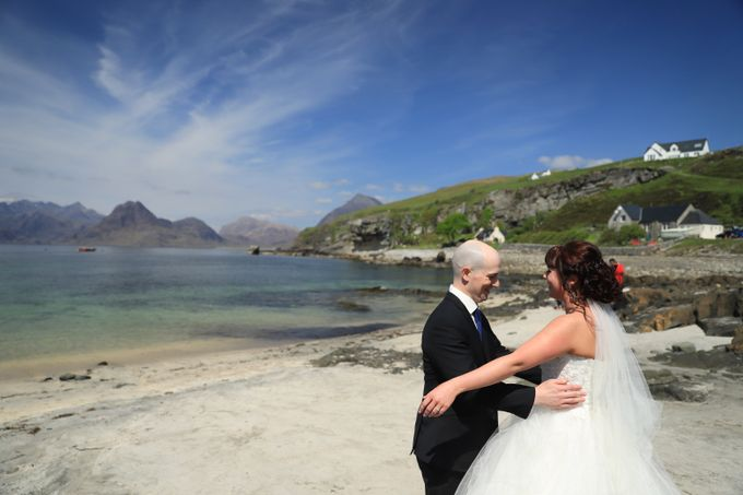 Dramatic elopement to Scotland by a couple who did things their way by Euphoria Photography - 007