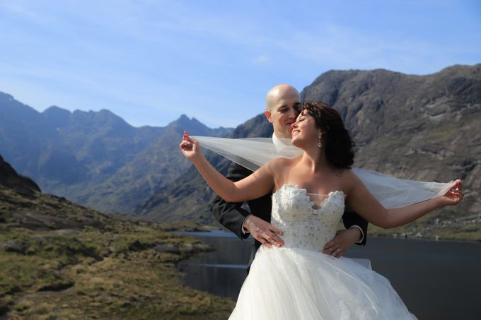 Dramatic elopement to Scotland by a couple who did things their way by Euphoria Photography - 040