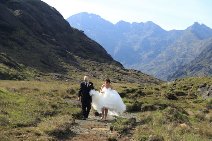 Dramatic elopement to Scotland by a couple who did things their way by Euphoria Photography - 042