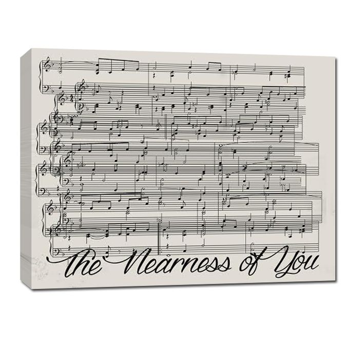 Sheet Music Canvas by Geezees Custom Canvas - 006