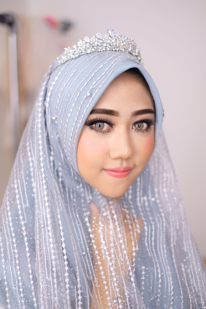 Hijab Make Up by Sherly Lin Makeup Artist - 001