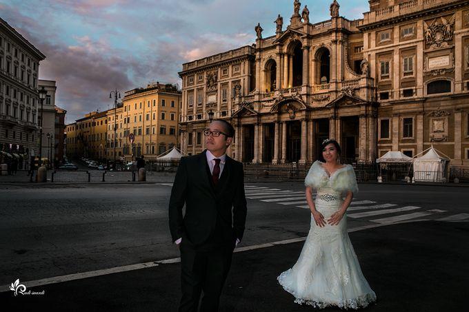 ROME  ITALY Sherly Prewedding by Therudisuardi - 003
