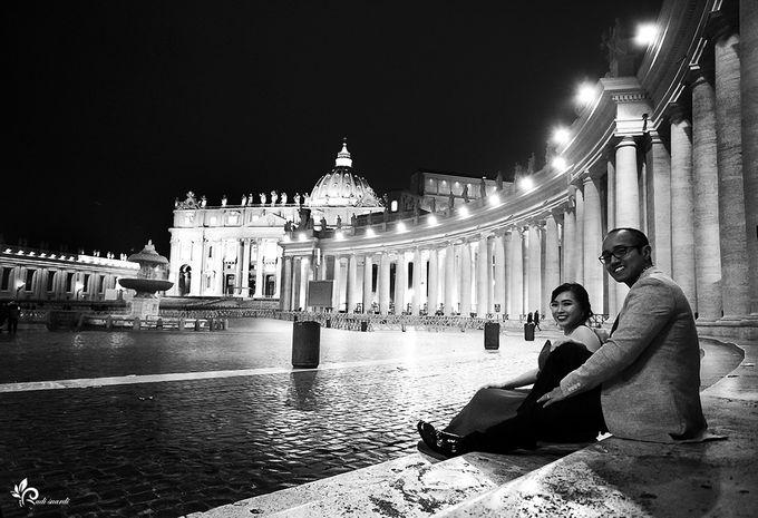 ROME  ITALY Sherly Prewedding by Therudisuardi - 012