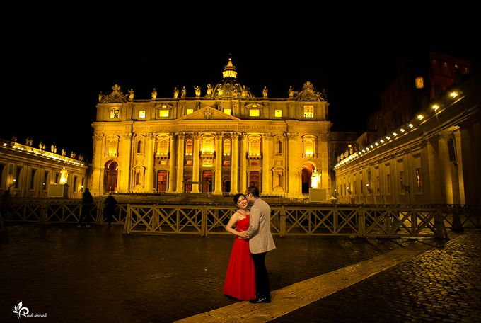 ROME  ITALY Sherly Prewedding by Therudisuardi - 019