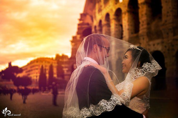 ROME  ITALY Sherly Prewedding by Therudisuardi - 027