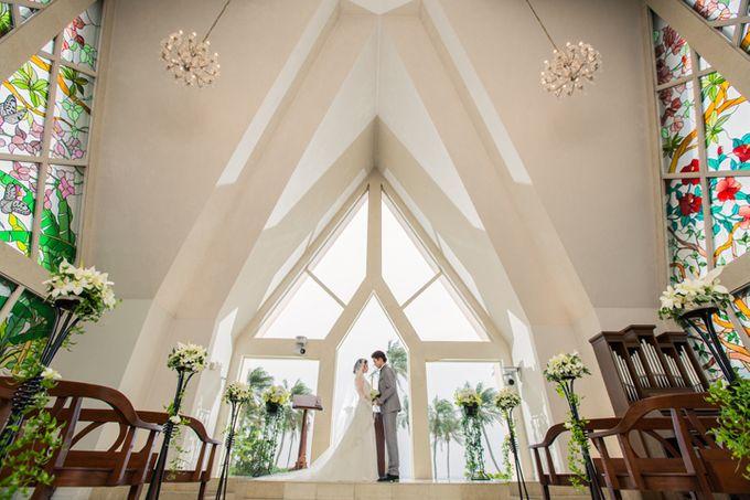 Shigira Bayside Resort Suite ALLAMANDA by 【Zexy  YouI】:Pre wedding photo in Japan - 005