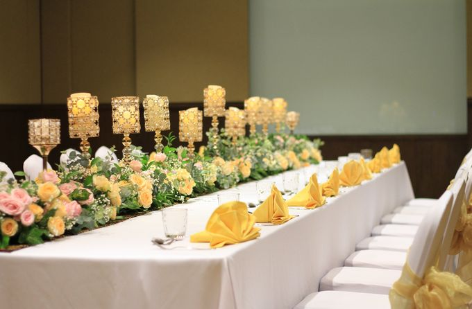 Wedding Package at New Golden Ballroom The Sultan Hotel Complex by The Sultan Hotel & Residence Jakarta - 003