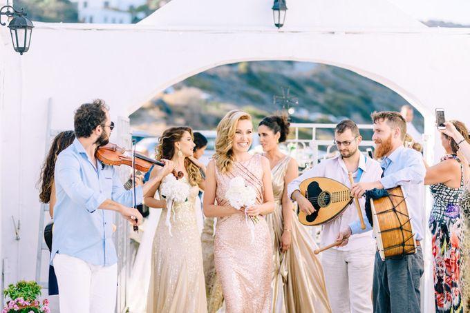 Wedding in Greek island by Elias Kordelakos - 018