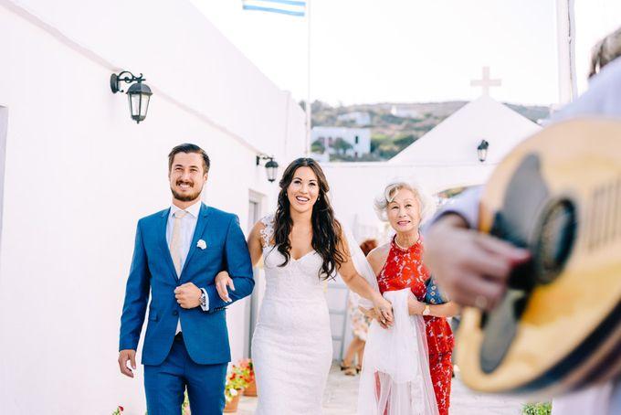 Wedding in Greek island by Elias Kordelakos - 019