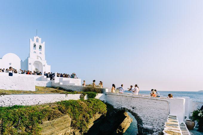Wedding in Greek island by Elias Kordelakos - 020