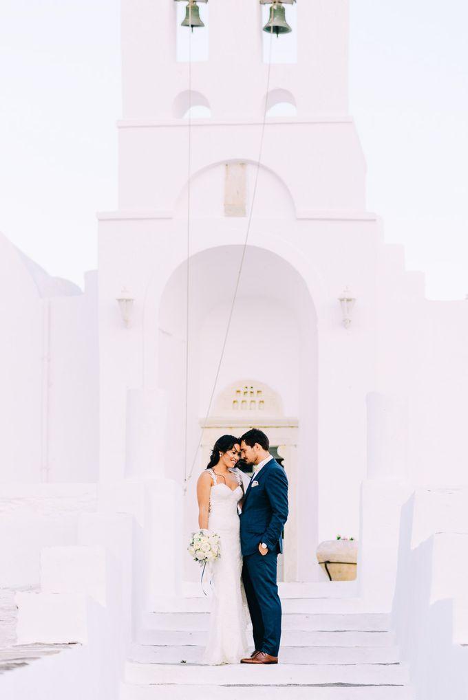 Wedding in Greek island by Elias Kordelakos - 023