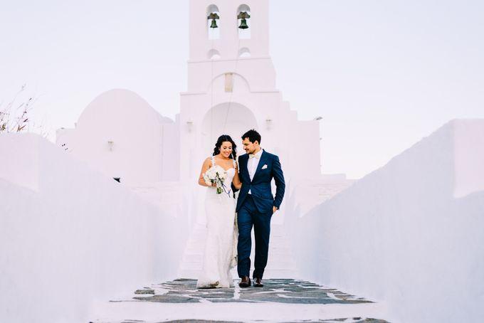 Wedding in Greek island by Elias Kordelakos - 024