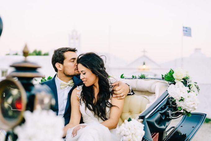 Wedding in Greek island by Elias Kordelakos - 025