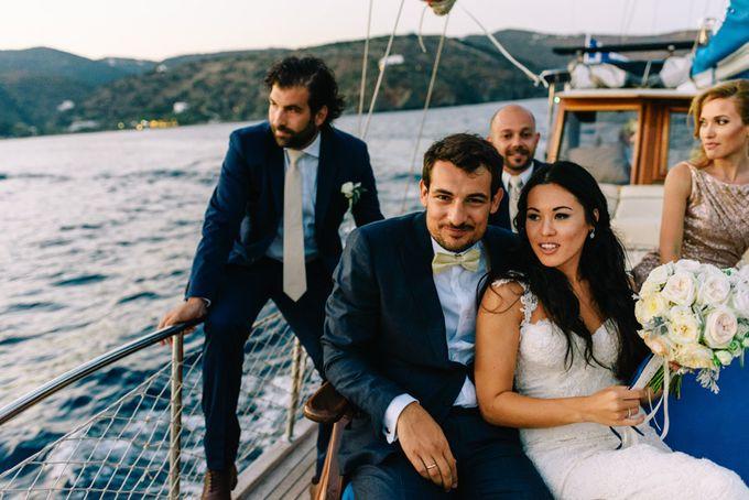 Wedding in Greek island by Elias Kordelakos - 033
