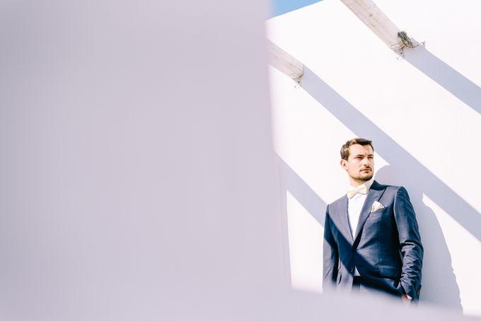 Wedding in Greek island by Elias Kordelakos - 005