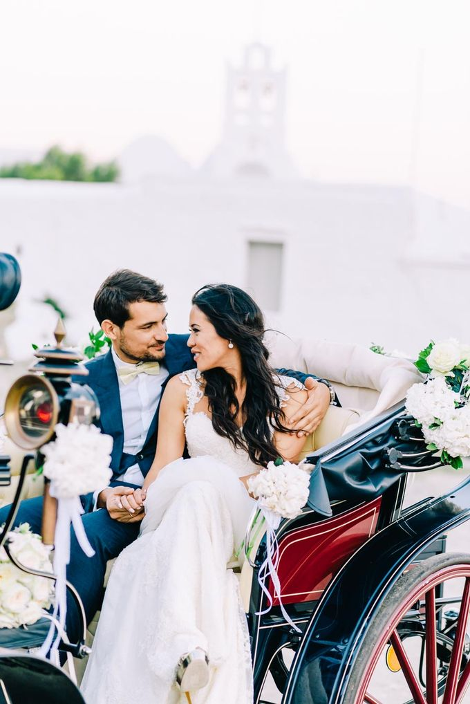 Wedding in Greek island by Elias Kordelakos - 042