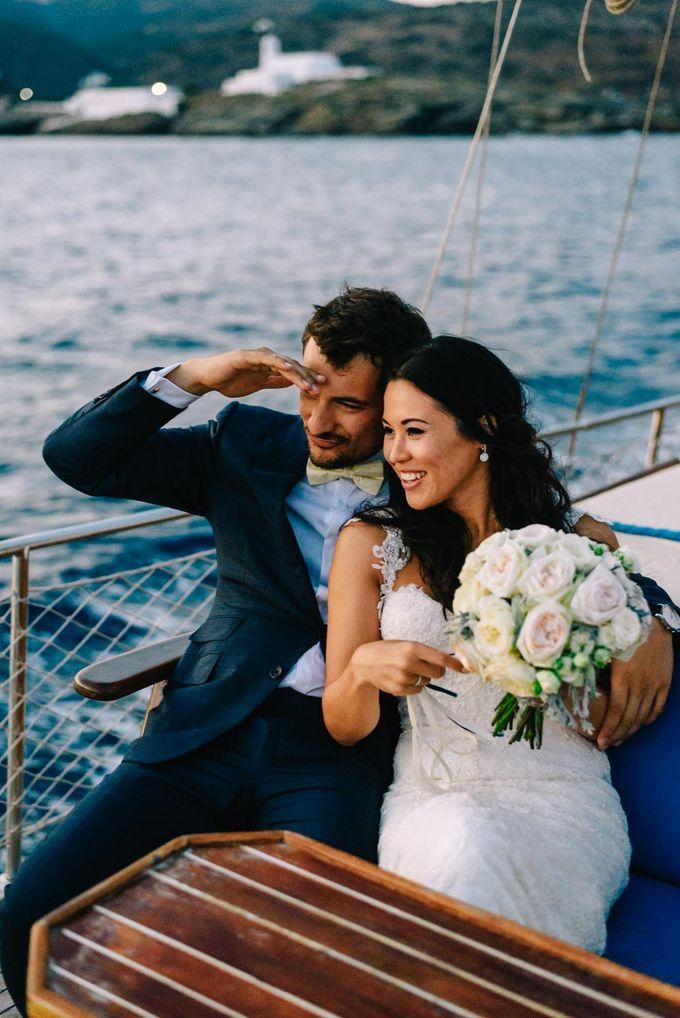 Wedding in Greek island by Elias Kordelakos - 049
