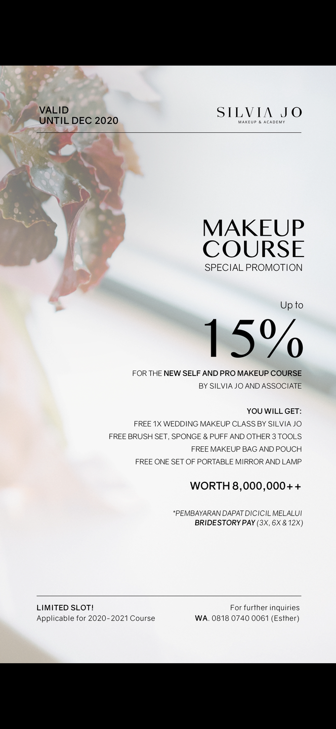 Special Promo Wedding & Makeup Course! by Silvia Jonathan - 002