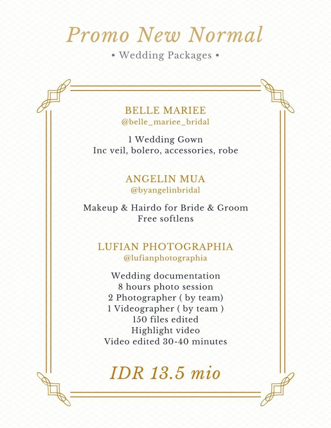 PACKAGE 2021 by AngeLin Bridal - 005