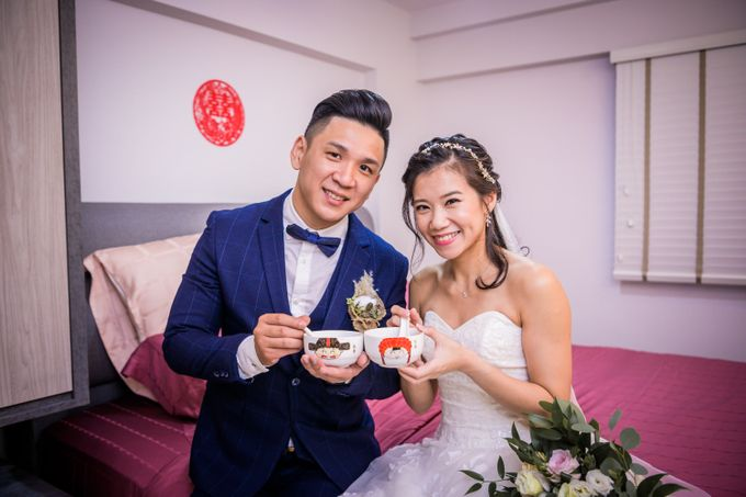 Wedding of Pamela & Kevin By Daniel Sim Photography by The Gown Warehouse - 013