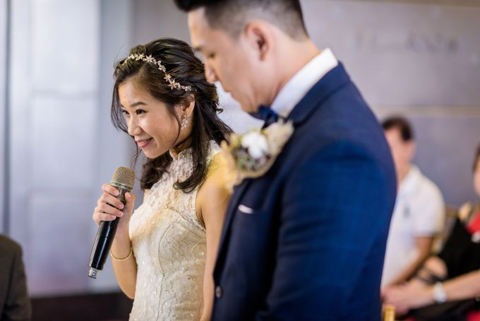 Wedding of Pamela & Kevin By Daniel Sim Photography by The Gown Warehouse - 029
