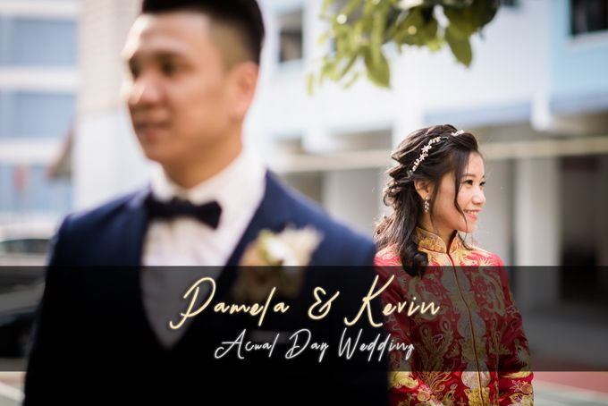 Wedding of Pamela & Kevin By Daniel Sim Photography by The Gown Warehouse - 001
