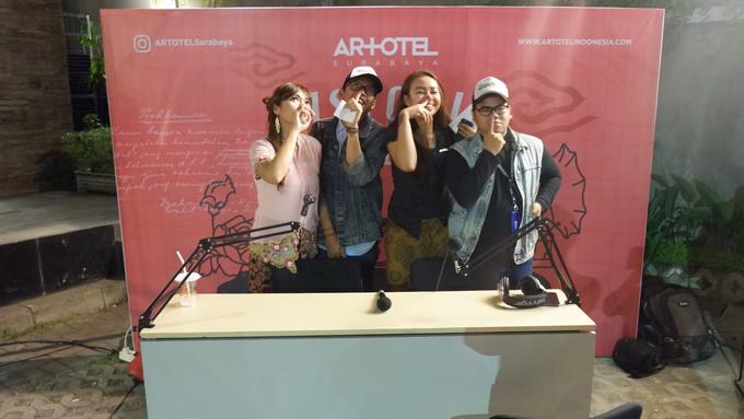 MC Historia Merdeka bersama Artotel Surabaya by Siska Fenti MC - 013