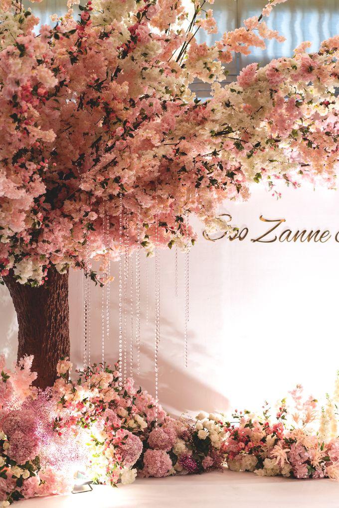 Soo Zanne & Tat Wei by Fleurs At Marrakesh - 002