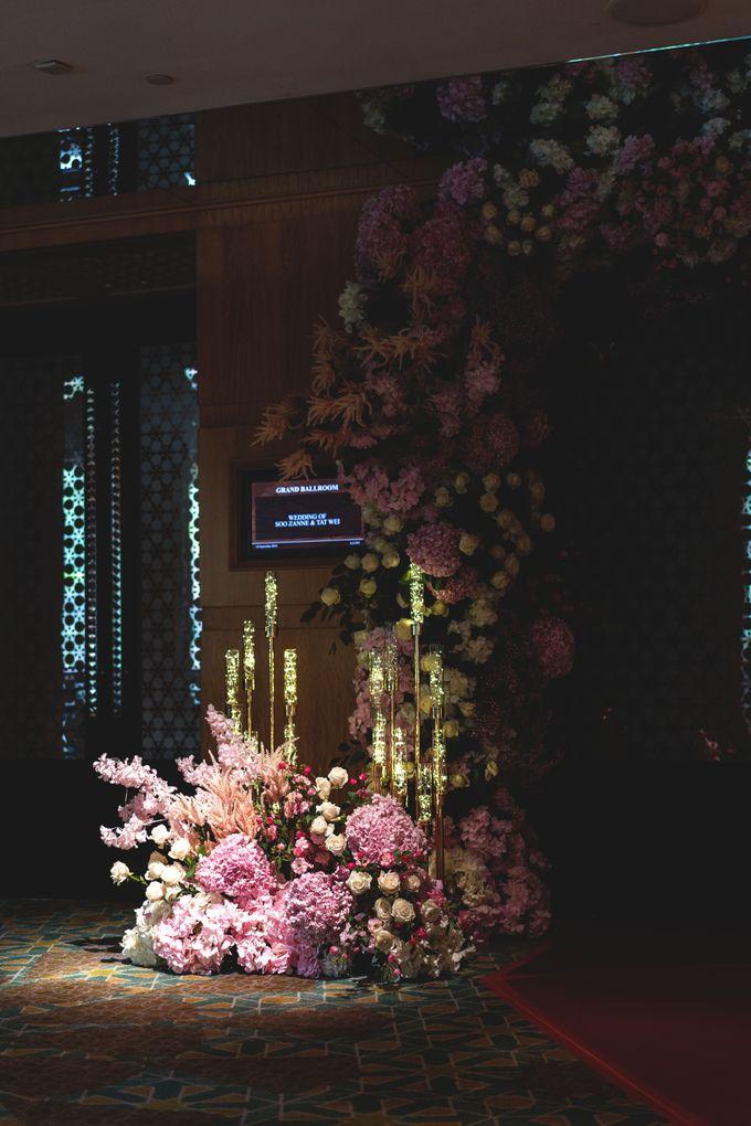 Soo Zanne & Tat Wei by Fleurs At Marrakesh - 005