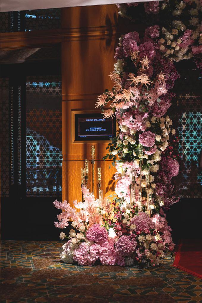Soo Zanne & Tat Wei by Fleurs At Marrakesh - 007