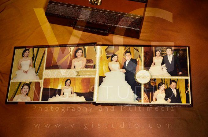 Album Photo Kolase Wedding Imelda & Baginda Model Koper Kulit by VIGI STUDIO - 001
