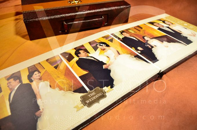 Album Photo Kolase Wedding Imelda & Baginda Model Koper Kulit by VIGI STUDIO - 002