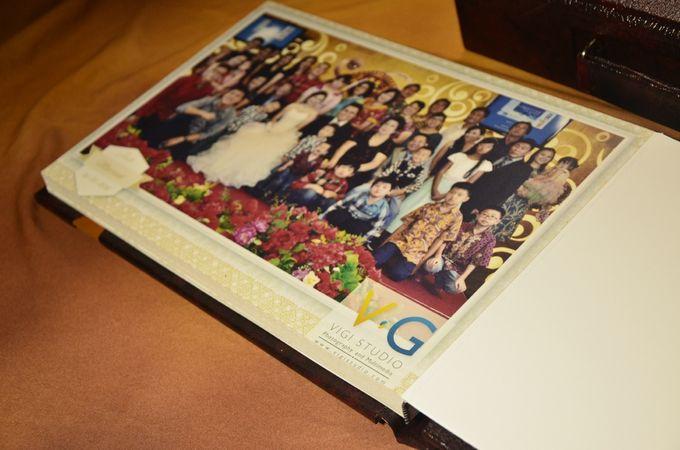 Album Photo Kolase Wedding Imelda & Baginda Model Koper Kulit by VIGI STUDIO - 003