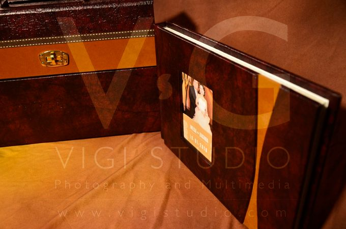 Album Photo Kolase Wedding Imelda & Baginda Model Koper Kulit by VIGI STUDIO - 007