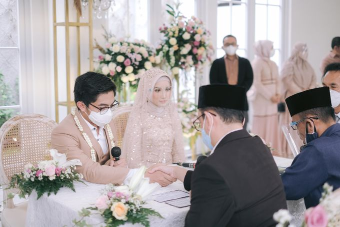 Harald Arkan & Prily Wedding Day by Cassia Decoration - 007