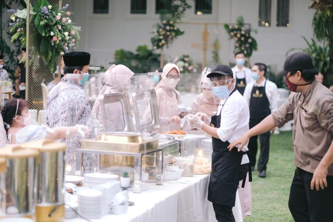 Harald Arkan & Prily Wedding Day by Medina Catering - 018