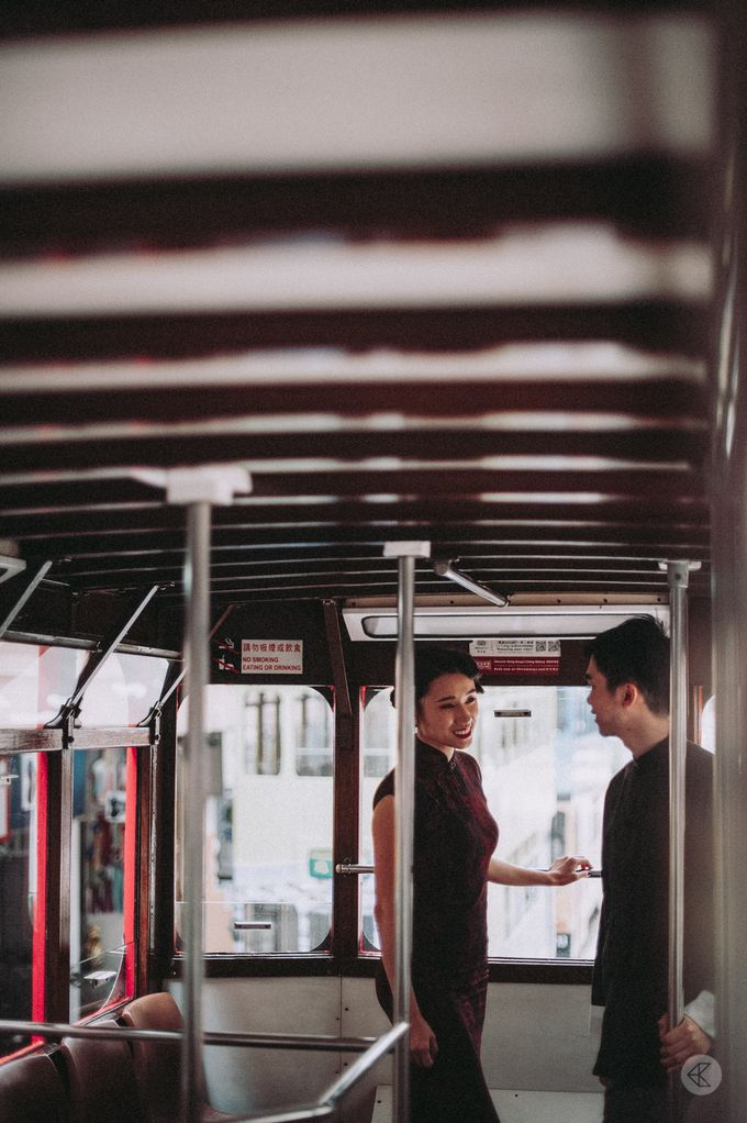 Sharon & Ming - 1930s Shanghai Engagement Portraits in Hong Kong by Chester Kher Creations - 008