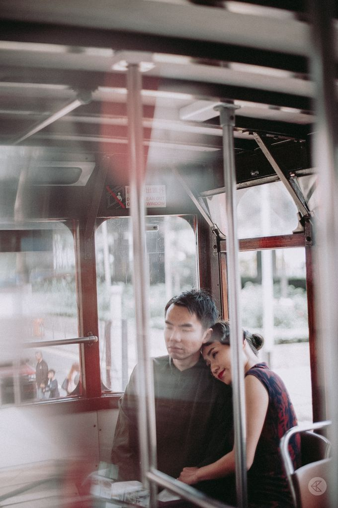 Sharon & Ming - 1930s Shanghai Engagement Portraits in Hong Kong by Chester Kher Creations - 010