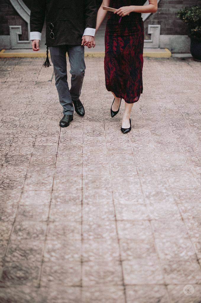 Sharon & Ming - 1930s Shanghai Engagement Portraits in Hong Kong by Chester Kher Creations - 017