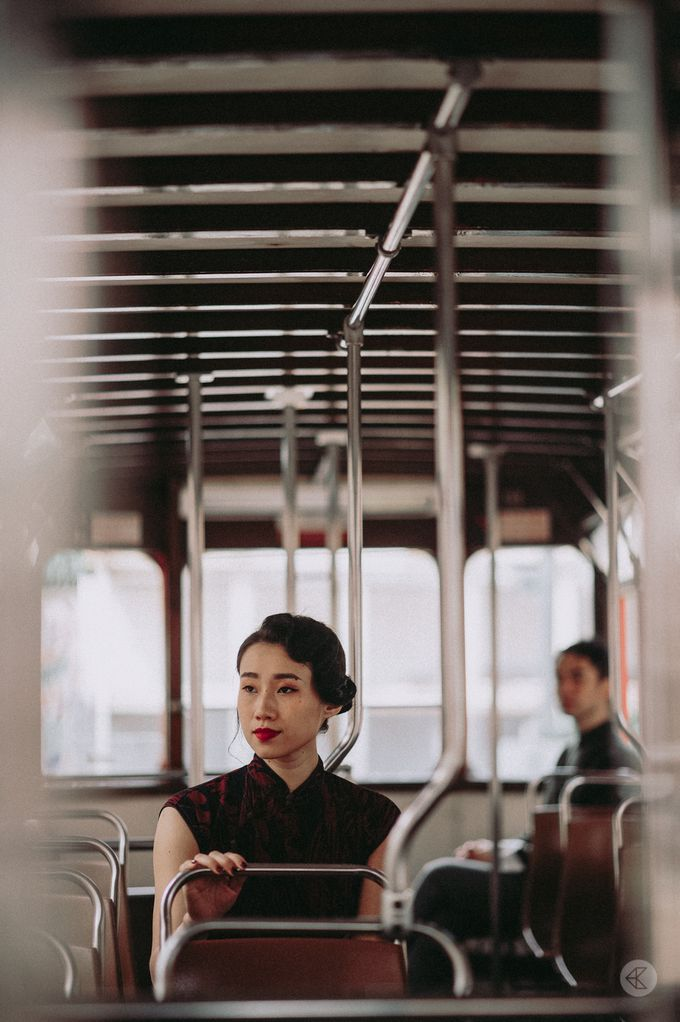 Sharon & Ming - 1930s Shanghai Engagement Portraits in Hong Kong by Chester Kher Creations - 004