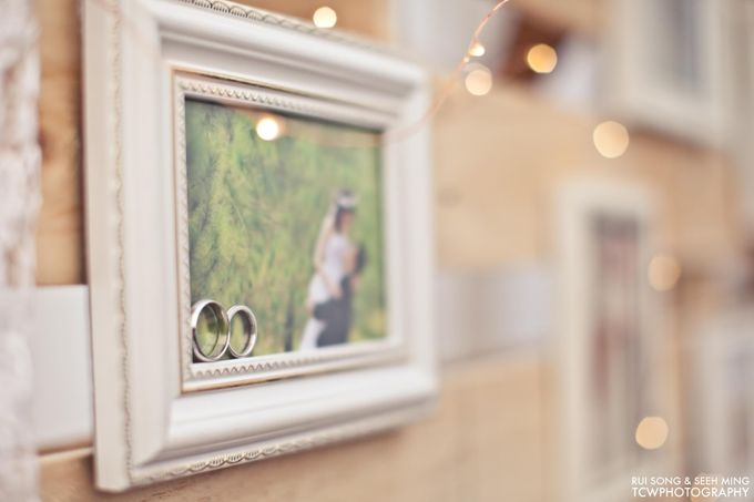 Actual Wedding Day Photography at Singapore by Rosette Designs & Co - 002