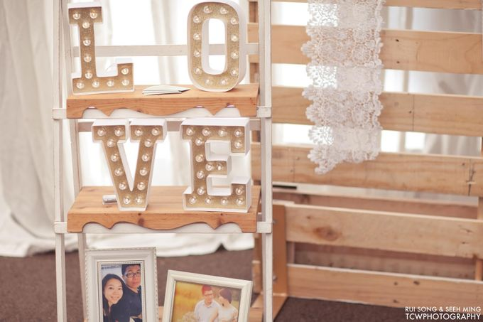 Actual Wedding Day Photography at Singapore by Rosette Designs & Co - 005
