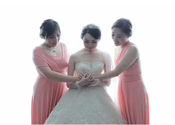 Alitroy And Stefani Wedding Day by Tinara Brides - 003