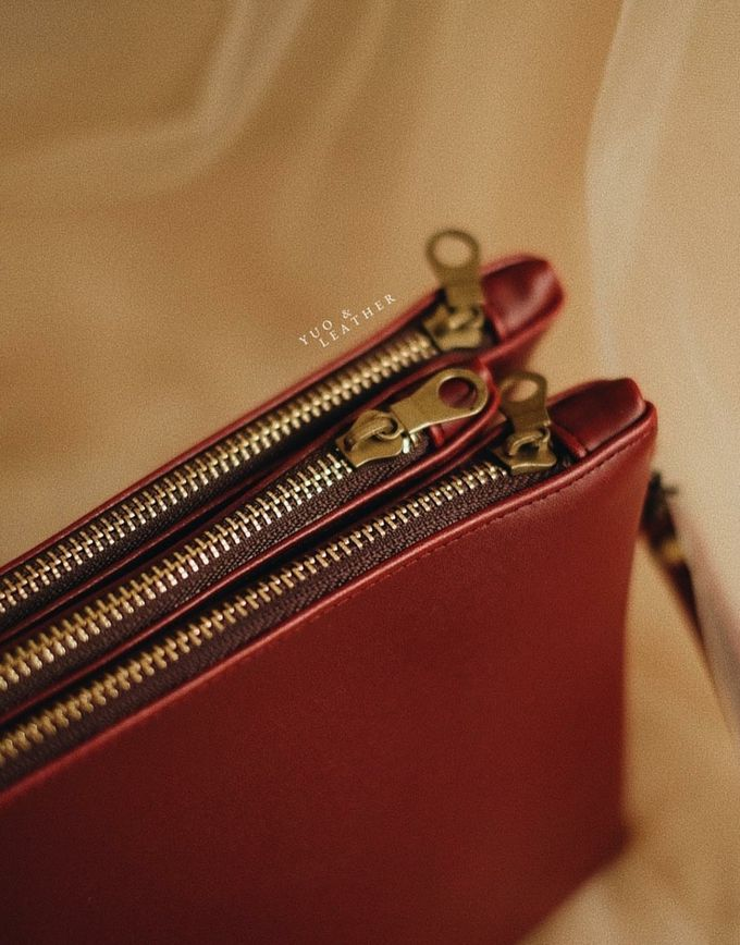 Sin And Mira Pouch by Yuo And Leather - 002
